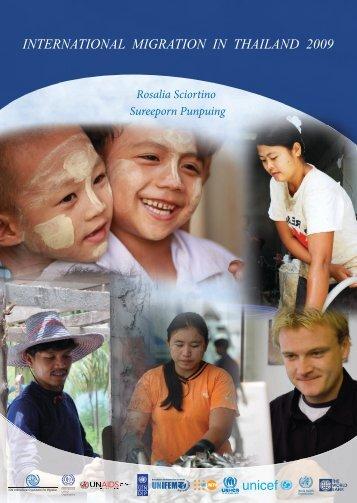 INTERNATIONAL MIGRATION IN THAILAND 2009 - Mahidol ...