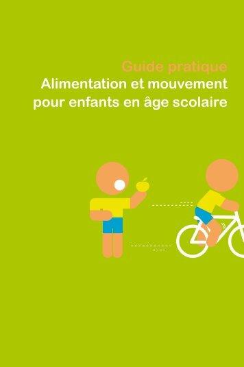 alimentation et mouvement pour enfants en âge scolaire - Ca marche