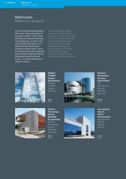 Referenzen Reference projects - Metallbau Schilloh GmbH