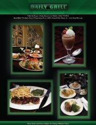 lunch menu - Your Restaurant Connection