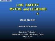 LNG SAFETY MYTHS and LEGENDS - National Energy Technology ...