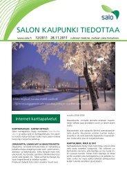 12/2011 - Salon kaupunki