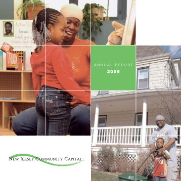 annual report - New Jersey Community Capital