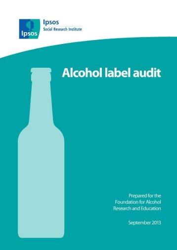 Alcohol-Label-Audit-September-2013