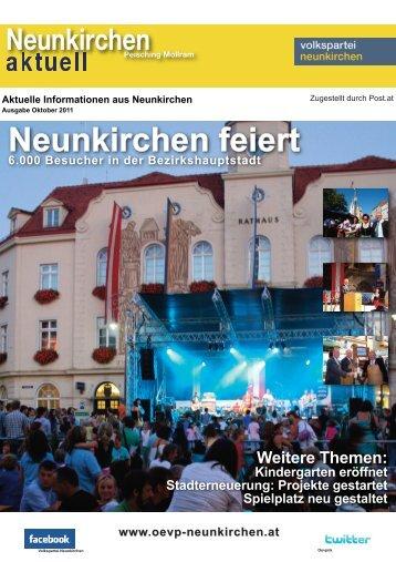 Neunkirchen Aktuell Oktober 2011 - Övp Neunkirchen