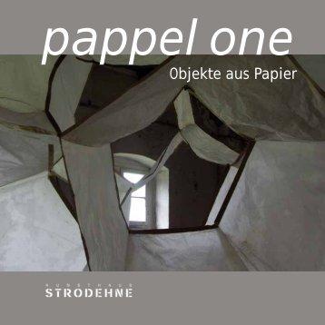 Objekte aus Papier - pappel one