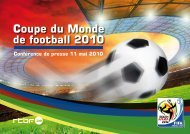 Coupe du Monde - Rtbf