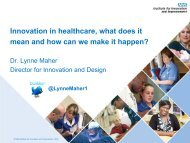 Innovation in healthcare, what does it mean and how can ... - Innomed