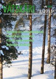 Vätskäri 01/2011 - Vstky
