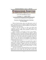 Assurance of Faith and Possession of Salvation - PreciousHeart.net