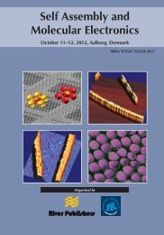 Self Assembly and Molecular Electronics - River Publishers