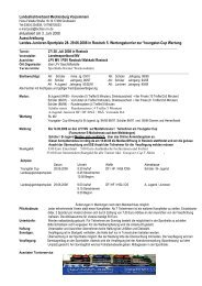 aktualisiert am 3. Juni 2008 Ausschreibung ... - www.fechten.com