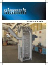 Perforated Band Screen - Sismat A.S.