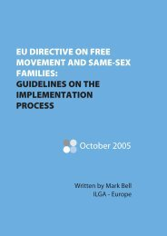 EU DIRECTIVE ON FREE MOVEMENT AND SAME-SEX ... - RFSL