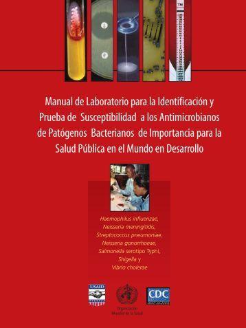 Manual de Laboratorio para la Identificación y Prueba de ...