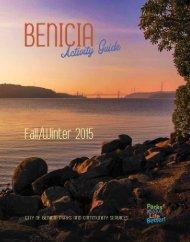 City of Benicia Fall/Winter 2015 Activity Guide