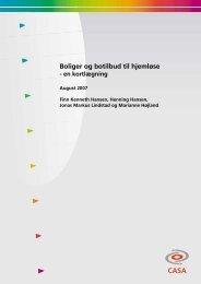 CASA Boliger og botilbud til hjemløse - Social-, Børne