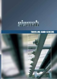 Travelling Band Screen - Sismat A.S.