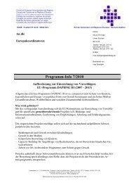 EU-Programm DAPHNE III