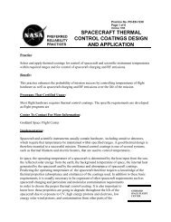 spacecraft thermal control coatings design and application - NASA