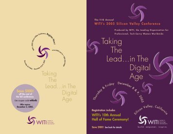 Downloadable Brochure - Women in Technology International