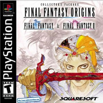 Final Fantasy Origins - Manual - PSX - RPGamers-fr