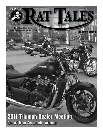 March 2011 - Triumph Riders Association of Portland