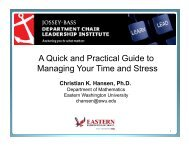 A Quick and Practical Guide to Managing Your Time and Stress
