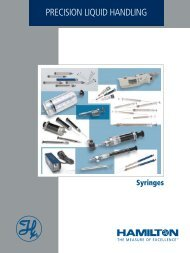General Syringes Catalogue - spectra scientific
