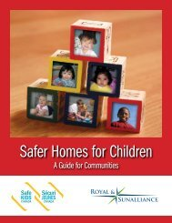 Safer Homes for Children - Ministry of Health Promotion - Ontario