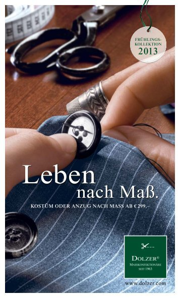 nach Maß. nach Maß. - Urban Media GmbH