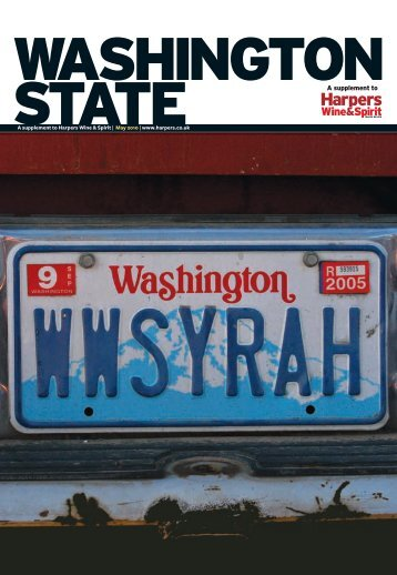 HWS Washington p1 cover.indd - Clarus Wines & Spirits Ltd.