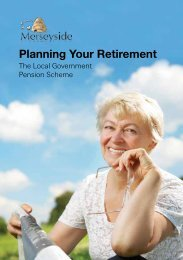 Planning Your Retirement - THE LOCAL GOVERNMENT PENSION ...