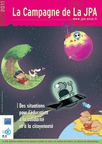 le livret de la campagne 2011 - La Jeunesse au Plein Air