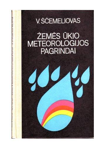 Žemės ūkio meteorologijos pagrindai
