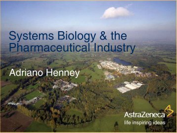 How does systems biology work in and for