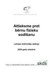 Attieksme pret bērnu fizisku sodīšanu Latvijas iedzīvotāju aptauja ...