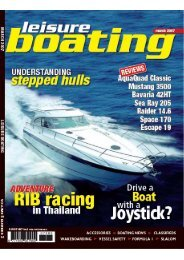 Leisure Boating March 2007 - Bavaria Boats: HOME