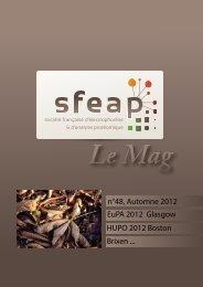 Le Mag 48 Automne 2012 - SFEAP