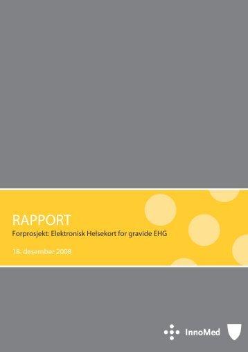 RAPPORT - Innomed