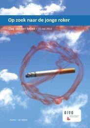 31-05-2013 : Op zoek naar de jonge roker - Dag zonder tabak - Crioc