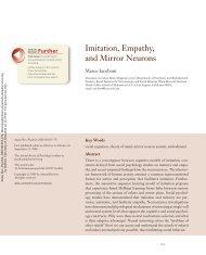 IMITATION EMPATHY AND MIRROR NEURONS IACOBONI