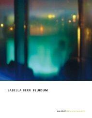 ISABELLA BERR fluidum - GALERIE Michael Radowitz