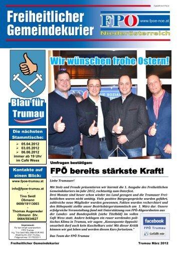 FPÖ bereits stärkste Kraft! - fpoe-trumau.com