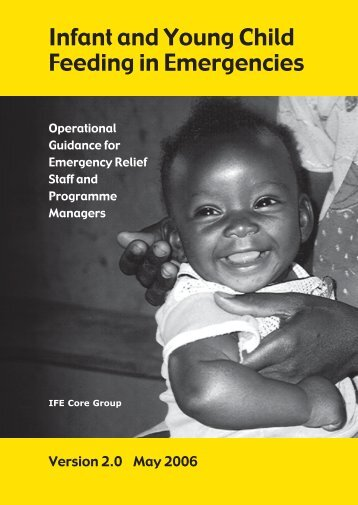Infant and Young Child Feeding in Emergencies - Health Library for ...
