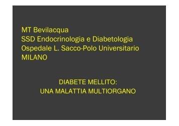 MT Bevilacqua SSD Endocrinologia e Diabetologia Ospedale L ...