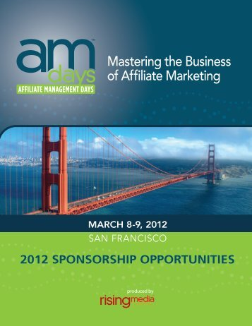 Mastering the Business of Affiliate Marketing - Affiliate Management ...