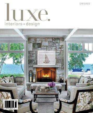 Luxe chicago magazine morgante wilson architects