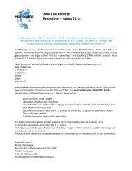 Appel de projet expos 13-14 - v2 - Théâtre Périscope