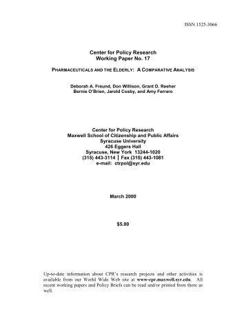 paper policy research working Monetary policy benjamin m friedman nber working paper no 8057 issued in december 2000 nber program(s):monetary economics monetary policy is one of the two.